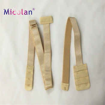 86954c70ef36b Women s Low Back Bra Converter 3 Hook Nude Strap Extender for Backless  Dresses and Tops