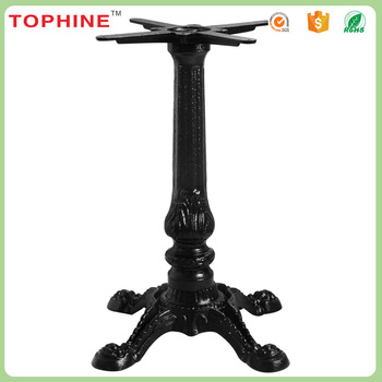 china direct wholesale outdoor coffee industrial cast iron table legs