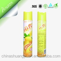 Air Freshener Tinplate Empty Aerosol Cans OEM