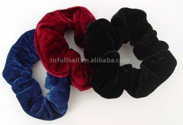 Velvet Scrunchie Hair Bands 57b22dd0492