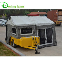 7x6 folding hard floor off road camper trailer