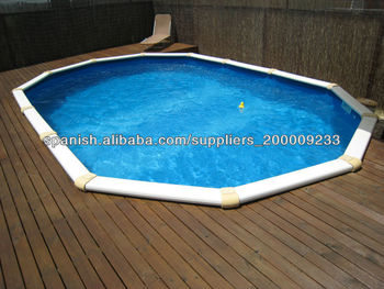 Stainless Steel Above Ground Swimming Pool Spa Pool Used