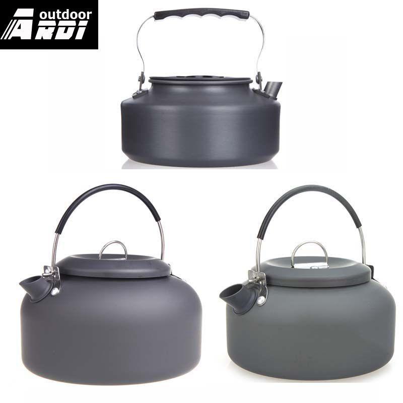 1.4l De Aluminio Al Aire Libre Hervidor De Agua Camping