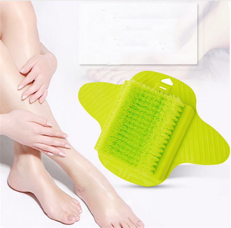 Foot cleaning tool Exfoliation of the dead skin foot scrubber brush Hairs with a sucker