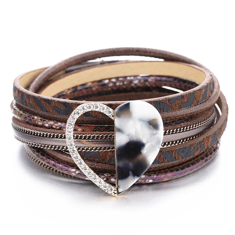 93f27fabd045 Venta al por mayor patrones pulseras cuero-Compre online los mejores ...