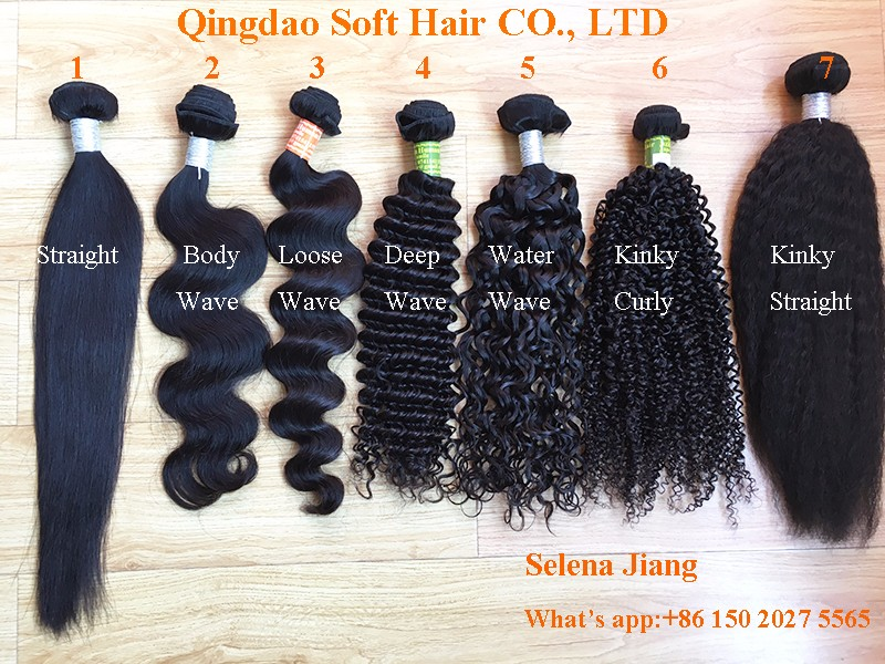 Peruvian Hair Extension Human Different Types Of Curly Weave Hair