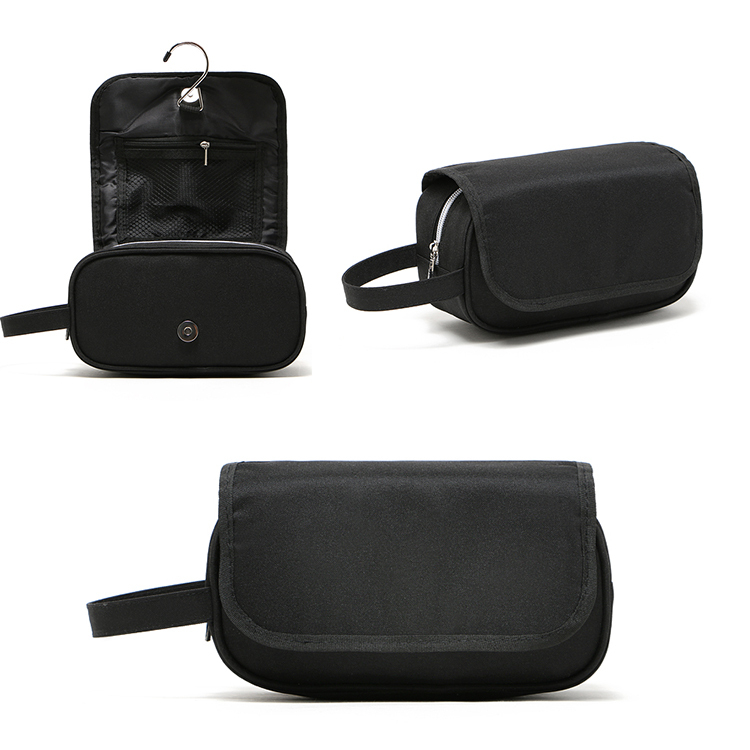 cf887421a01 Buy Designer toiletry bag for men luxury male wash bag high quality nylon  black clutches hanging cosmetic bags fabric makeup cases in Cheap Price on  ...