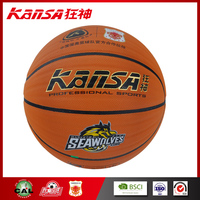 Kansa-1016 Wholesale Indoor&Outdoor Cheap Rubber In Official Size High Quality Ball Basketball