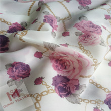 China style 100 polyester woven printed chiffon fabric for clothing,garment,wedding,dress