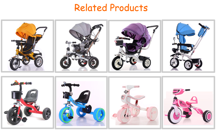 2 3 years old baby tricycle in dubai / hot sale vintage trike made in china / three wheeler cycle for baby
