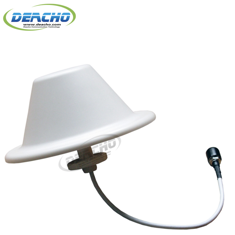 689-2700MHz indoor LTE ceiling Mount omni <strong>antenna</strong>, 360 deg 3/5dBi