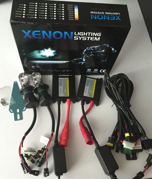 Super Slim Hid Xenon 35 W 55 W 75 W 100 W 150 Watt Hid Xenon Kit Ac/ dc Lage Price12v 24 V H1 H3 H4 H7 9006 H13 9005 9007 90049006