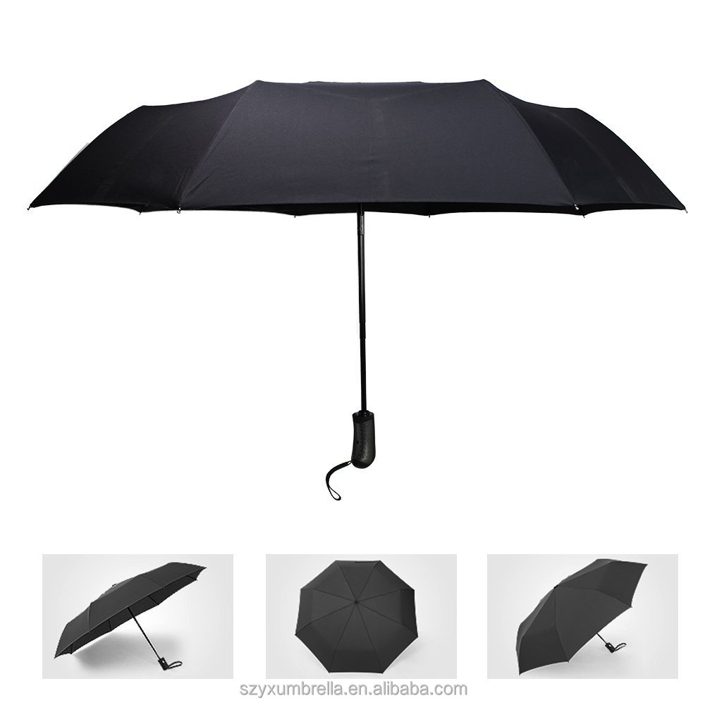 Compact 60 MPH Windproof Travel Umbrella for Men Auto Open and Close Compact Folding Unbreakable Umbrellas UV Protection