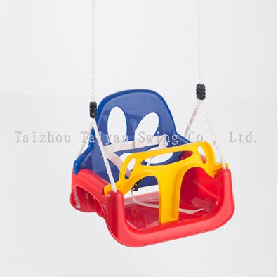 Playground 3-coloured Baby swing seat Growing style