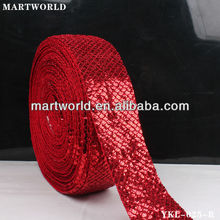 2013 Chinese red hot sell trimming sequin trim (HF-025)
