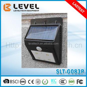 Outdoor High Lumen Solar Motion Sensor Light Small Solar Security ...