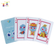 New Arrival Customized Size Souvenir 100% Pvc Cmyk Printed Plastic Display Business Embossing Fruit Promotional Playing Card