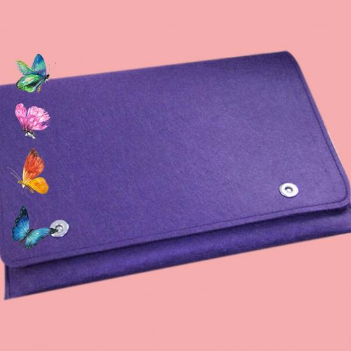 Casual microfiber button tablet 13inch hard case for laptop for ipad 2
