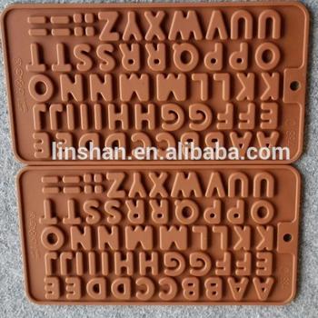 Alfabeto Inglés De Chocolate De Silicona Molde Buy Moldes Decorativos Para Espejosmoldes De Chocolate De Silicona Para Decoraciónnueva Novedad
