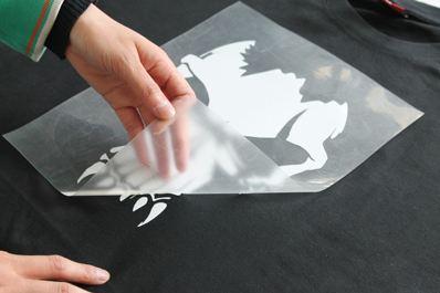 Anolly transparente de pvc Cinta de transferencia de vinilo de color