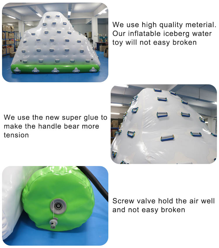 inflatable iceberg toy