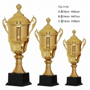 High quality trophies cup with wholesales price metal trophy cup award and world cup trophy