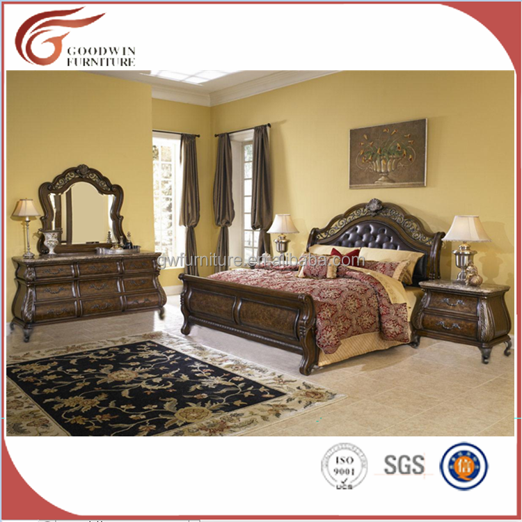 WA142 Goodwin klasik bedroom furniture Turki modern