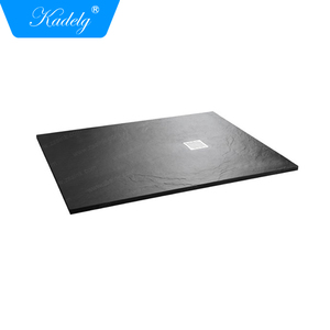 Hot Sale Modern Slate Plato De Ducha Resina Shower Base Tray