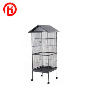 Fine quality factory bird breeding big roof bird cages