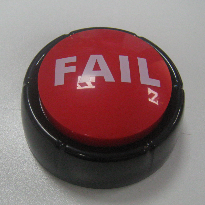 Holiday gifts custom Fail buttons sound answer buzzers talking EASY BUTTONS with 4 custom sounds