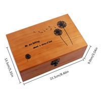 wooden box for gift luxury perfume box wood