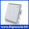 Crystal Glass Panel Switch Smart Home Wall WIFI Touch Switch