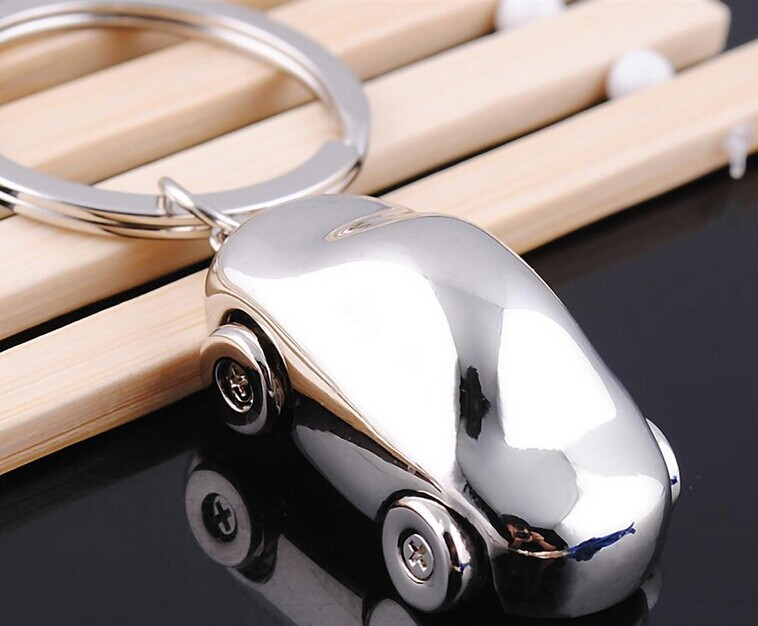 Customized Hot Sales Promotional Car Model Logo Metal Keychain