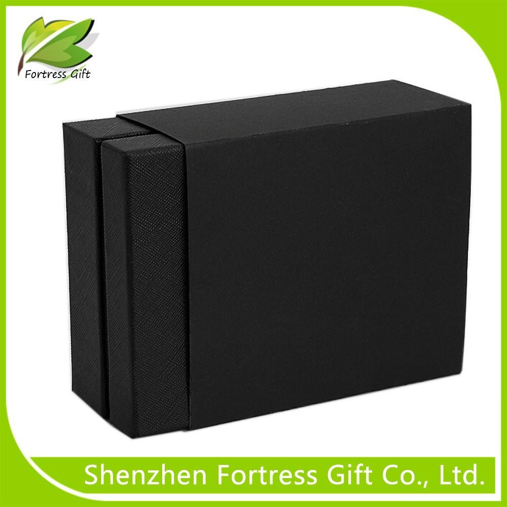 Fancy Black Hard Cardboard Paper Gift Box For Wallet - Buy ... - photo#10