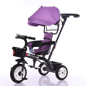 New model push power baby trend stroller triycle