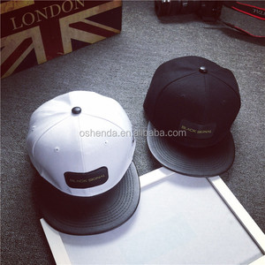 high quality 3D embroidery wholesale free customize snapback hats and caps