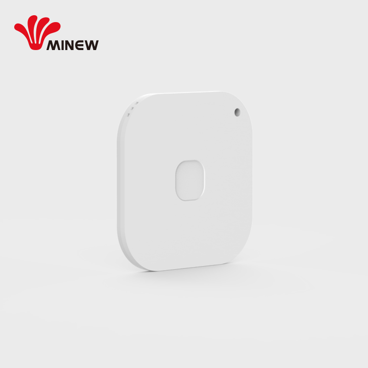 Wireless Smart BLE Alat Pelacak Anti Kehilangan Alarm Bluetooth Tracker Kunci Finder