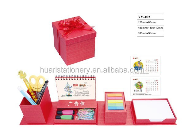 Cheap Custom Office Stationery Gift Set for Promotion