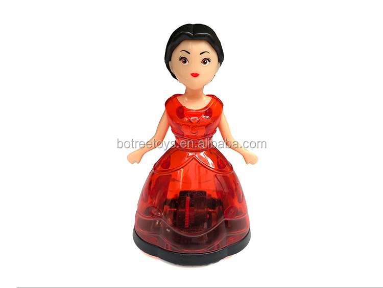 Newest Princess Pull Back Plastic Toy for Kids
