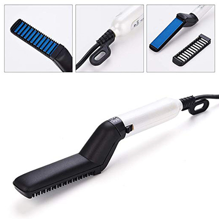 New arrival top selling high quality multiple functional salon beard hair straightening comb