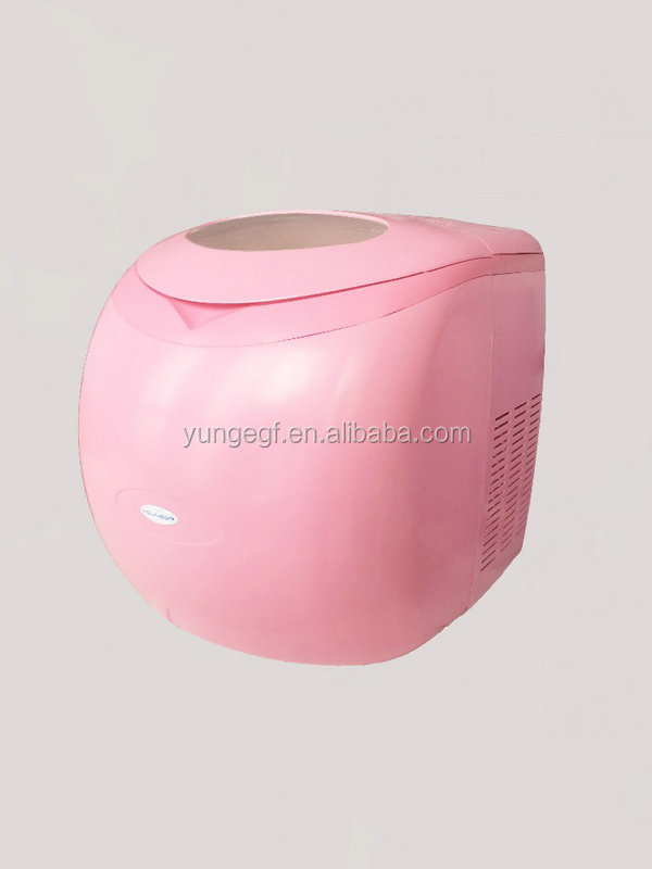 New arrival fashionable design mini car power ac/dc ice maker YG-I-DC-001A