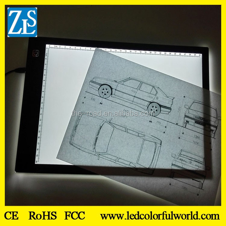 Portable Tracing Light Pad LED Light Box for Artists,Drawing, Sketching