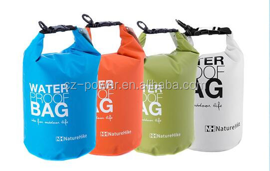 2016 New ProductsFactory price 2L 5L 10L 20L Ocean pack Waterproof dry bag with shoulder strap