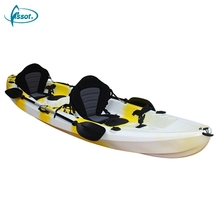 Customized wholesale canoes 2 person fishing kayak , ocean kayak, cheap plastic kayak