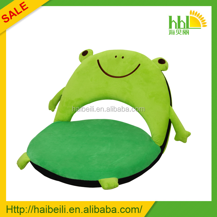 Frog colorful kids comfortable cheap folding chairs