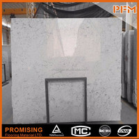 2015 PFM hot sale natural thin white carrara marble slab