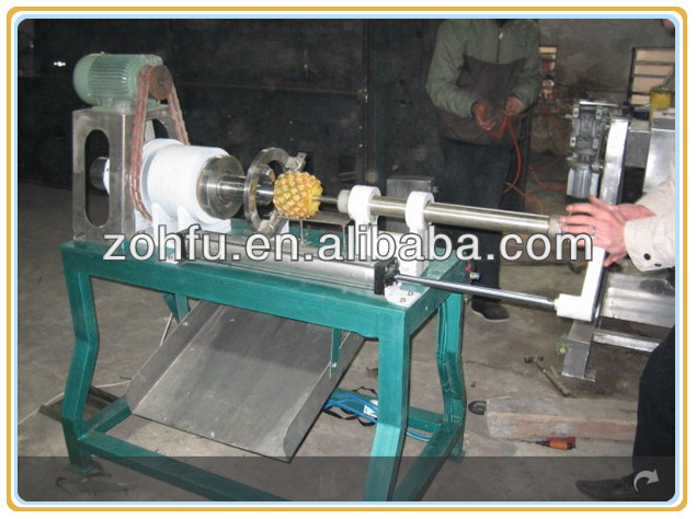 electric pineapple peeler and corer / pineapple peeler and coring machinery