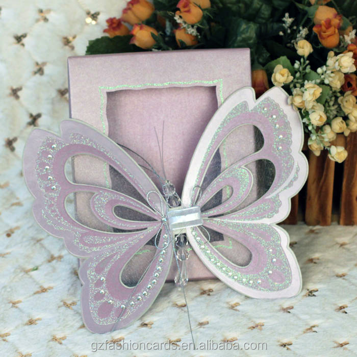 2014 Royal Scroll Butterfly Invitations Buy Butterfly – Butterfly Wedding Invitations