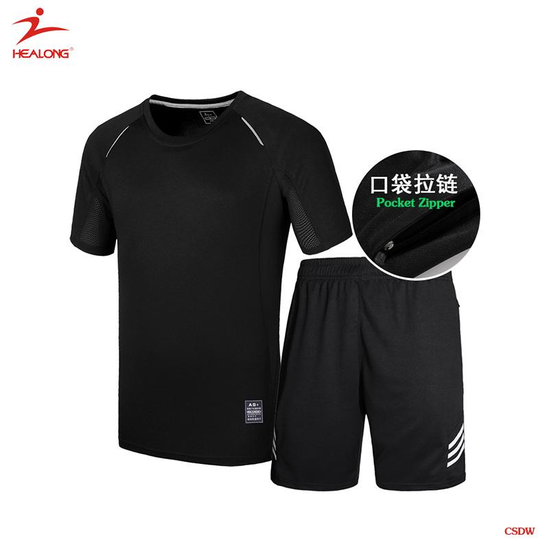 25fa9ad368659b Custom Blank Black Soccer Jersey Youth Cheap Team Football Uniforms ...
