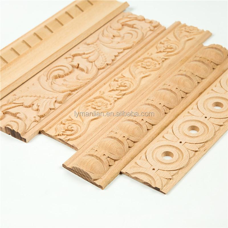 Solid Wood Moldings Trim Decorative Wood Mouldings Buy Solid Wood Moldings Wood Mouldings Wood Trim Product On Alibaba Com